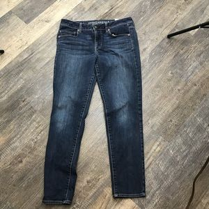 High Rise Skinny Jeans American Eagle Outfitters